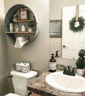 Photo of Guarda questa interessante organizzazione del bagno che stile ingegnoso #bathroo…
