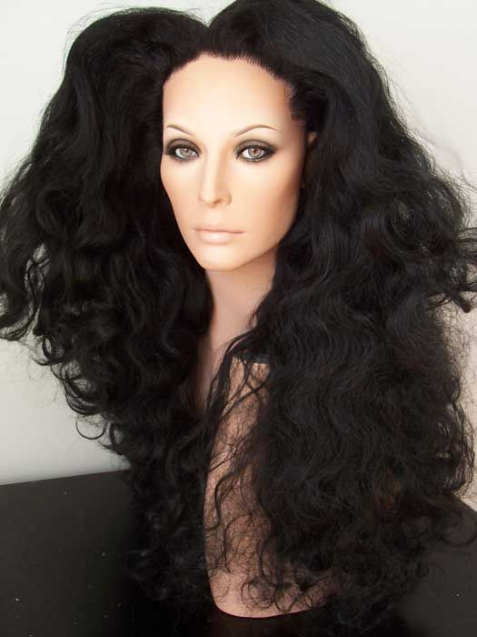 Diana Ross Lace Front Wig Drag Queen 80 S 90 S Wavy
