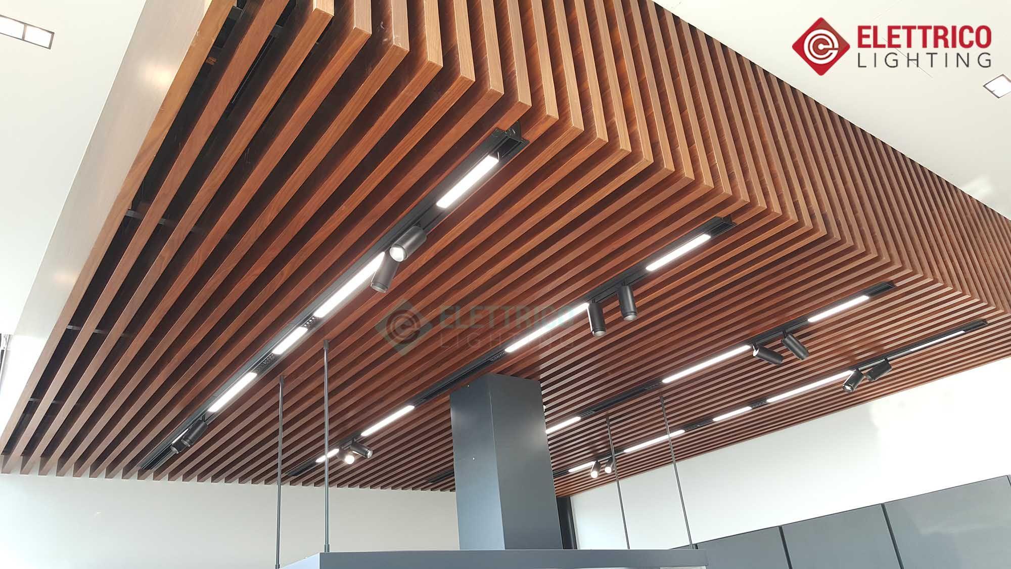 Lighting Track System For Ceiling Elettrico In Dubai Lighting Design Interior Residential Lighting Ceiling Installation