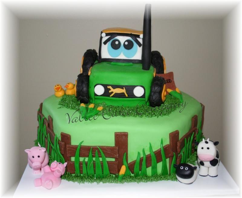 tractor cake Drew birthday Pinterest Tractor Tractor birthday