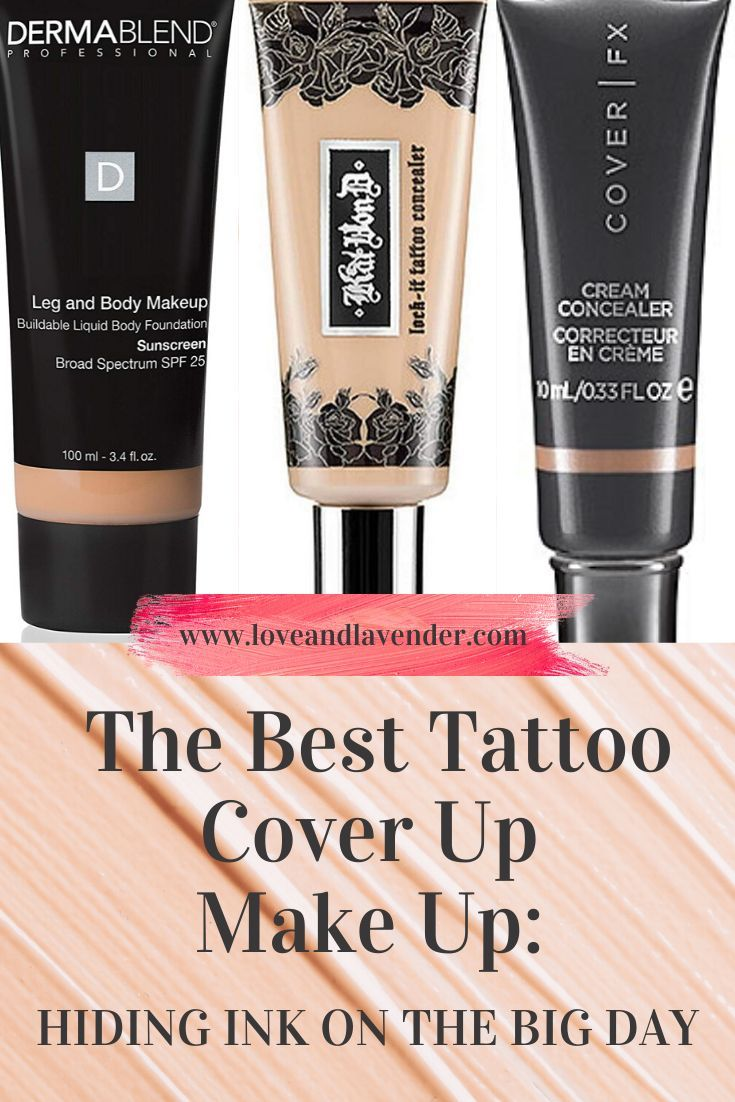 The Best Tattoo Cover up Makeup Hiding Ink for Any Event