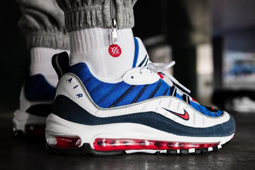 "pretty nice d3ad4 f2199 Nike Air Max 98 ""Gundam""  Best Sneakers on Instagram This Week"
