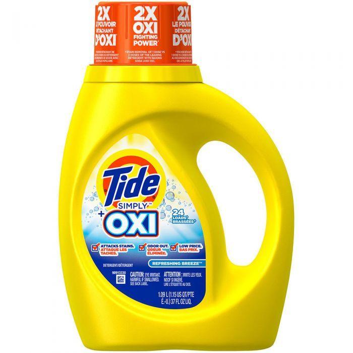 Tide Oxi Laundry Detergent Detergente Detergente Para La Ropa