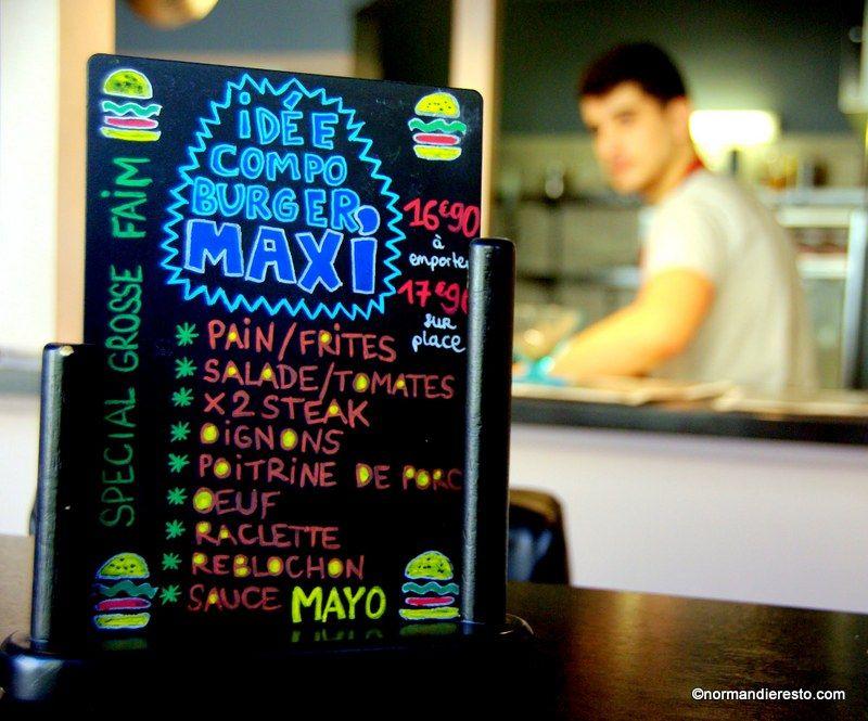 Fun food burger à emporter ou livraison au havre fun food