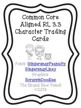 Character Trading Cards Rl   Formal Assessment