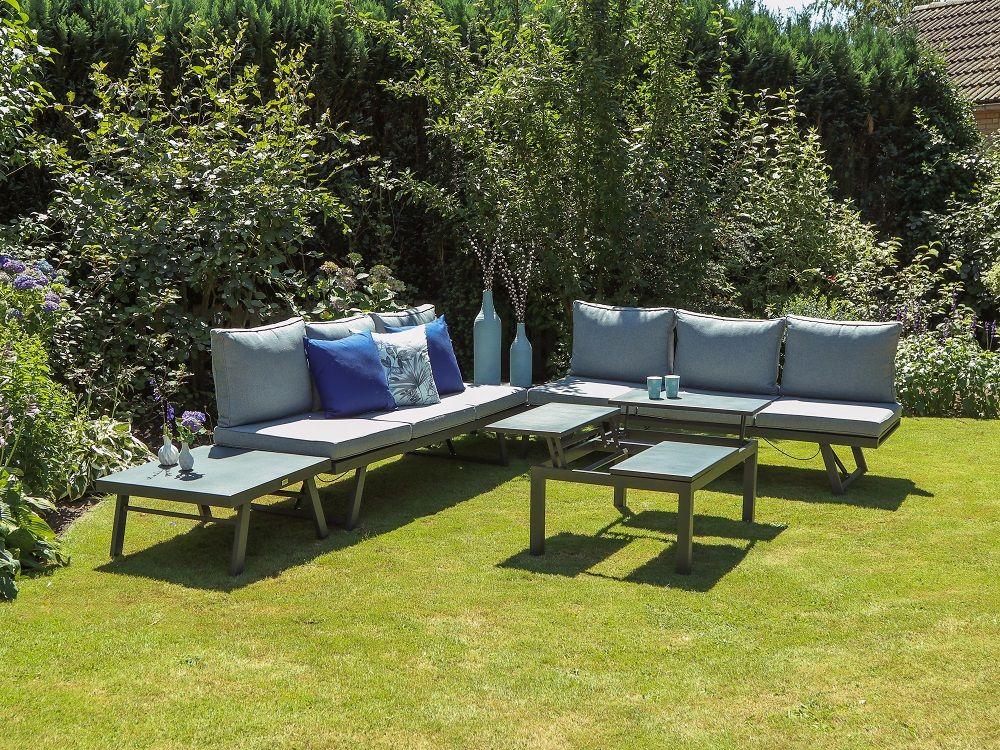 Forza Vadena Lounge-Set #gartenmöbel #loungeset #aluminium Pinterest