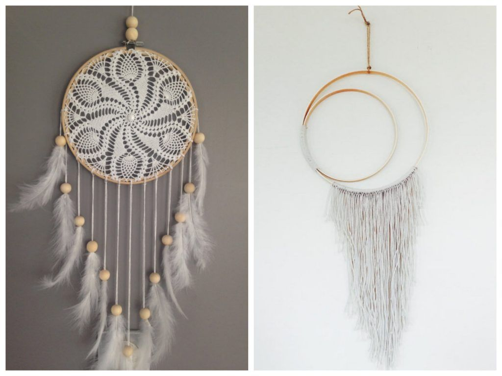 20 diy attrape r ve tutoriel et id es dream catchers - Cercle attrape reve ...