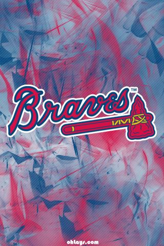 Baseball Iphone Wallpapers Page 1 Ohlays Atlanta Braves Wallpaper Braves Braves Iphone Wallpaper