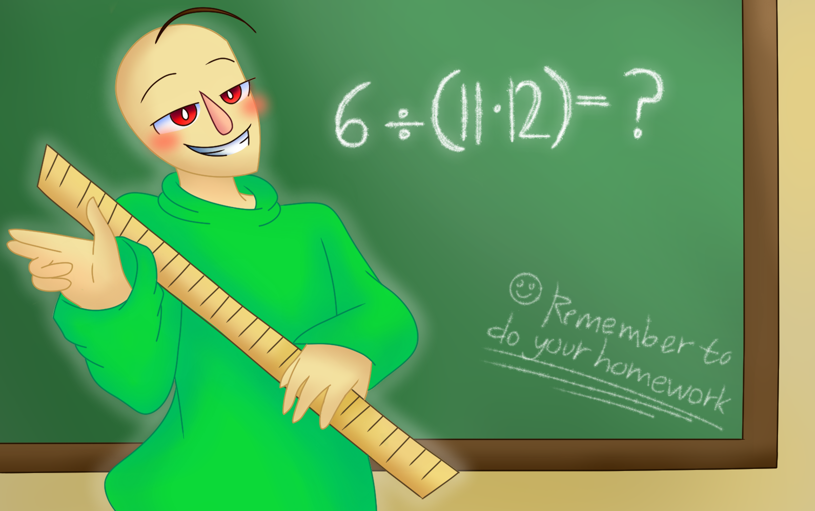 Baldi's basics in education and learning by MrMsFaded