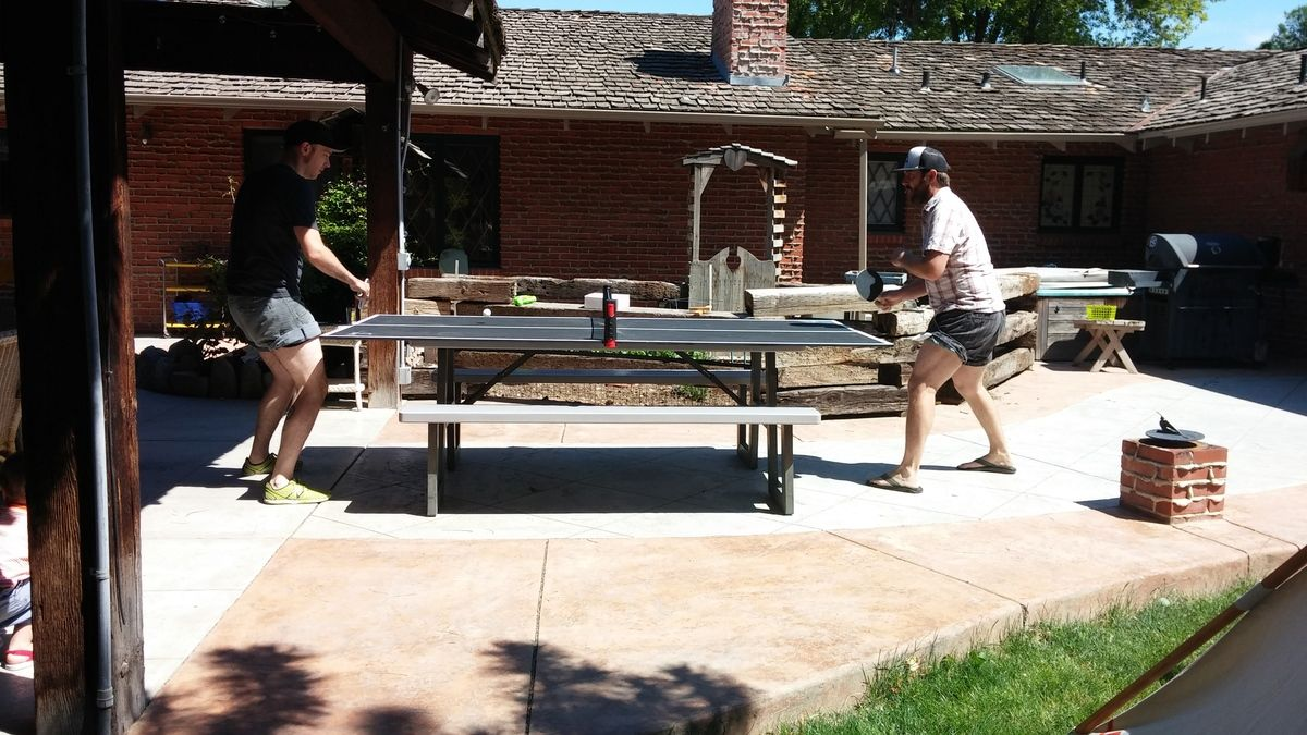 40 Ping Pong table top game Ana White Diy outdoor