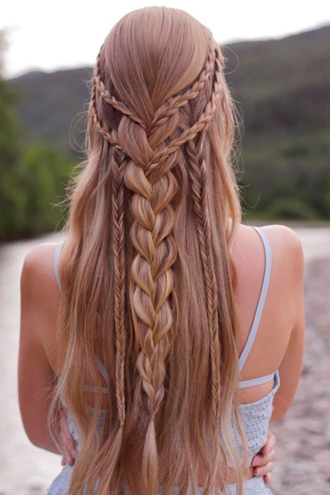 60+ Best Bohemian Hairstyles That Turn Heads | Prom hairstyles for long hair, Long hair styles ...