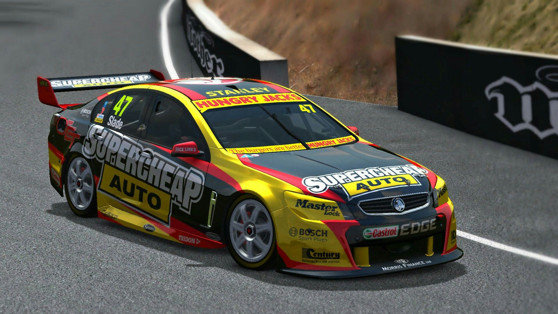 Great Looking Super V8 Cars Onwheels Tv 2014 Supercheap Auto Racing By Tero Dahlberg 47 Tim Coches