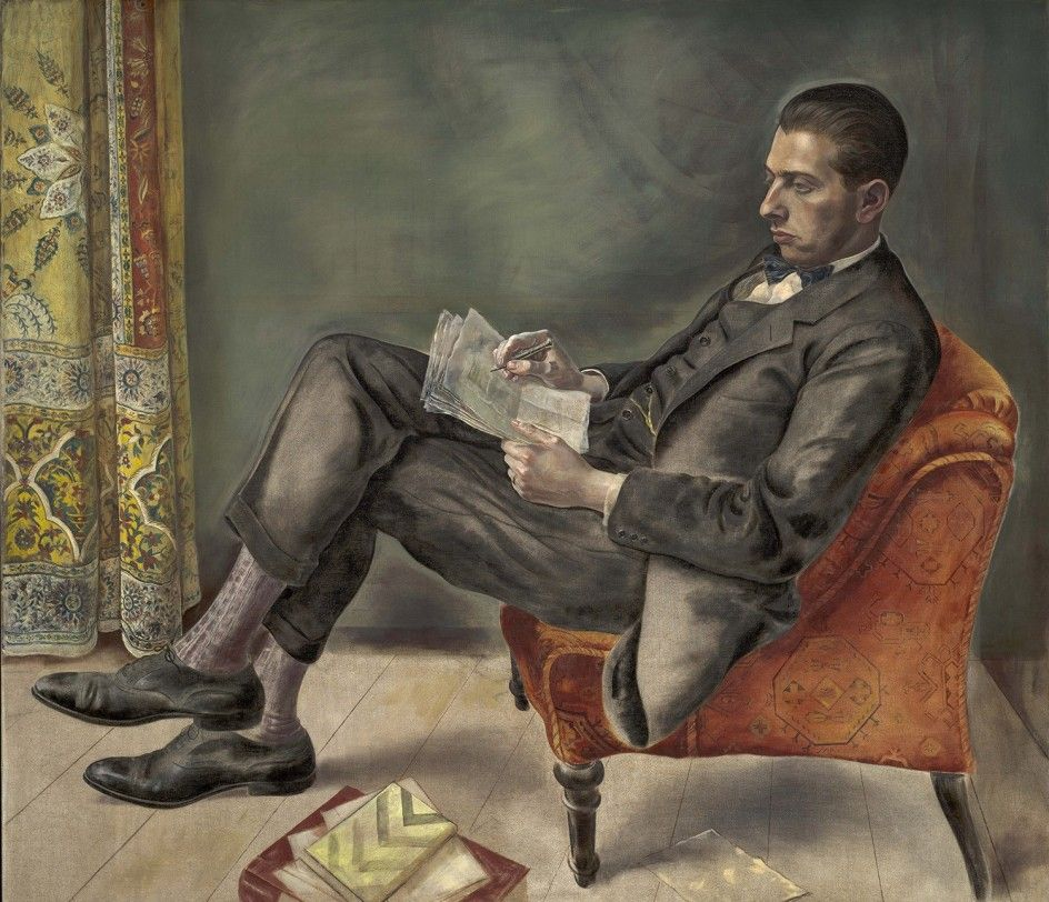 George Grosz - Portrait of Dr. Felix J. Weil, 1926