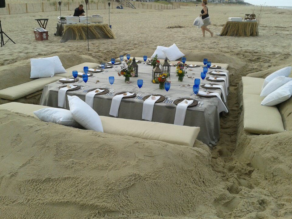 Sand couch built by delaware surf fishing for nage for Rehoboth beach fishing