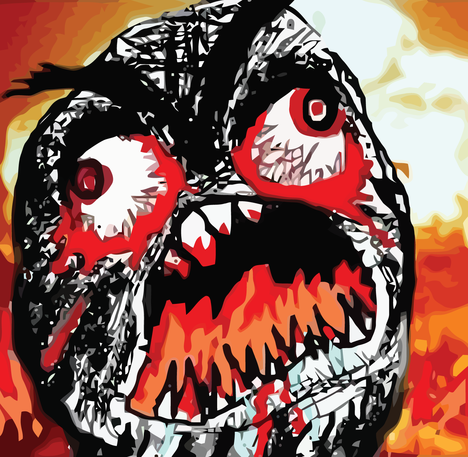 angry rage face meme - photo #32