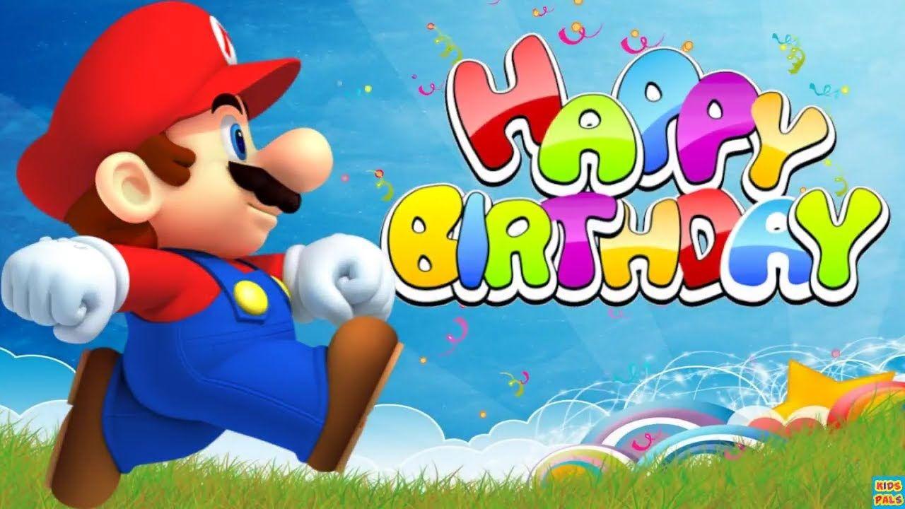 Happy Birthday Song Super Mario Friends Birthday Songs Happy