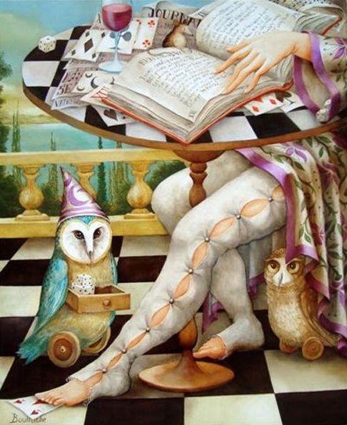 Agnè ~ Fantastic Surrealist painter | Tutt'Art@ | Pittura * Scultura * Poesia * Musica |