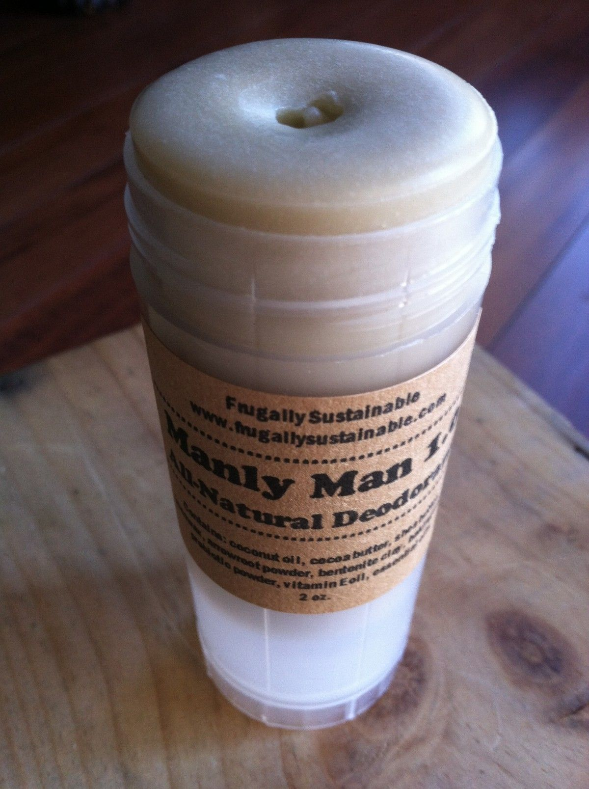 How to Make a Homemade, All Natural Deodorant for Men | Frugally Sustainable