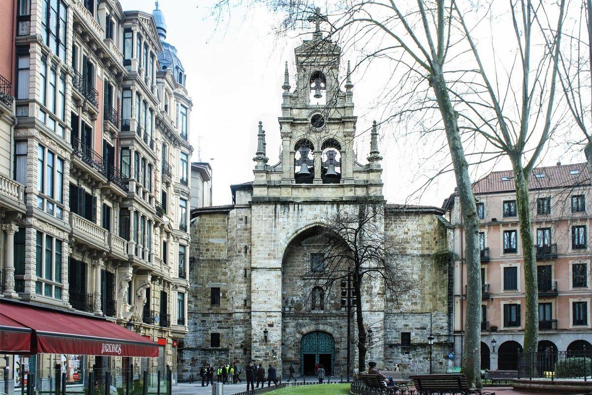 Iglesia De San Vicente Mártir Arquitectura Bilbao San Vicente Iglesia Bilbao