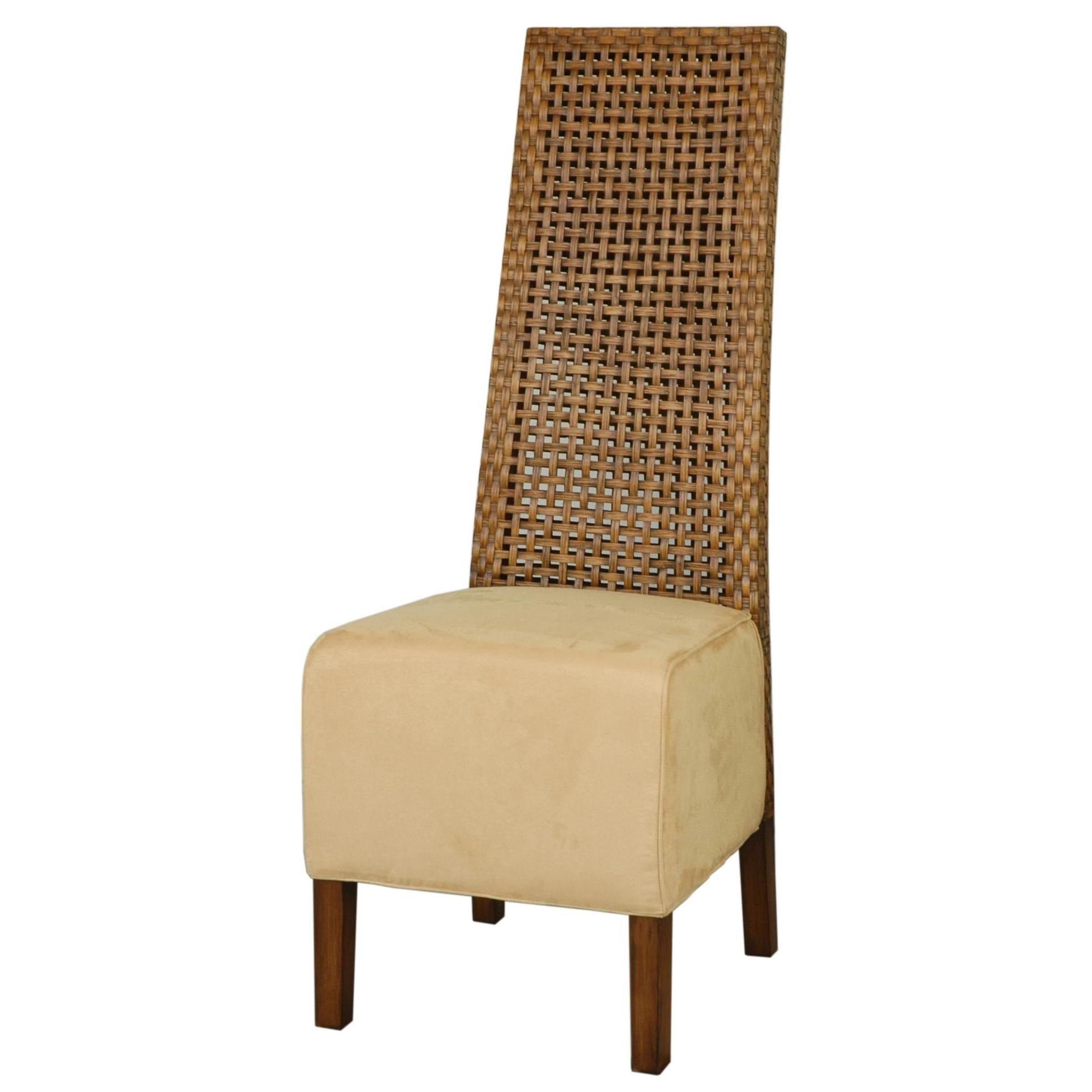 Crafted home bellevue contemporary brown textured chair bellevue