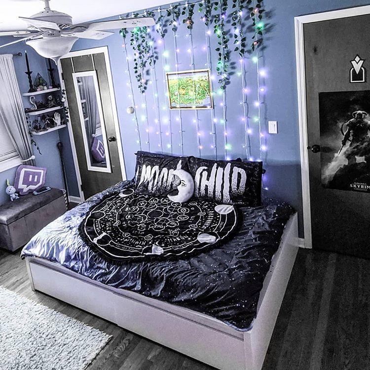 Home Design Ideas Instagram: Dark Home Decor , Room Ideas Bedroom