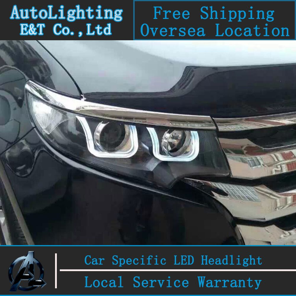 Car Styling Led Head Lamp For Ford Edge Headlights   Edge Led Headlight Drl