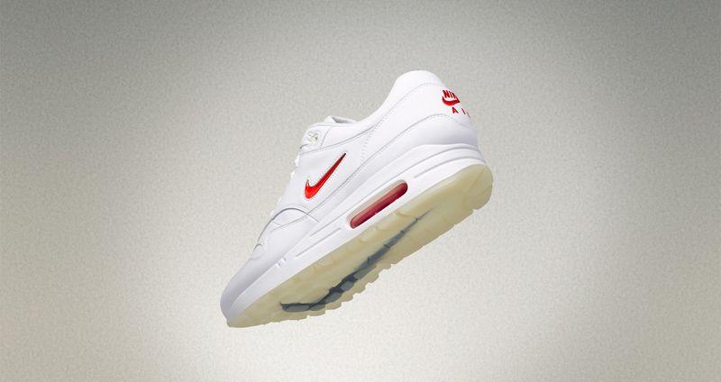 "Nike Air Max 1 Premium Jewel ""Black Diamond""   ""Rare Ruby""  fb4355914"