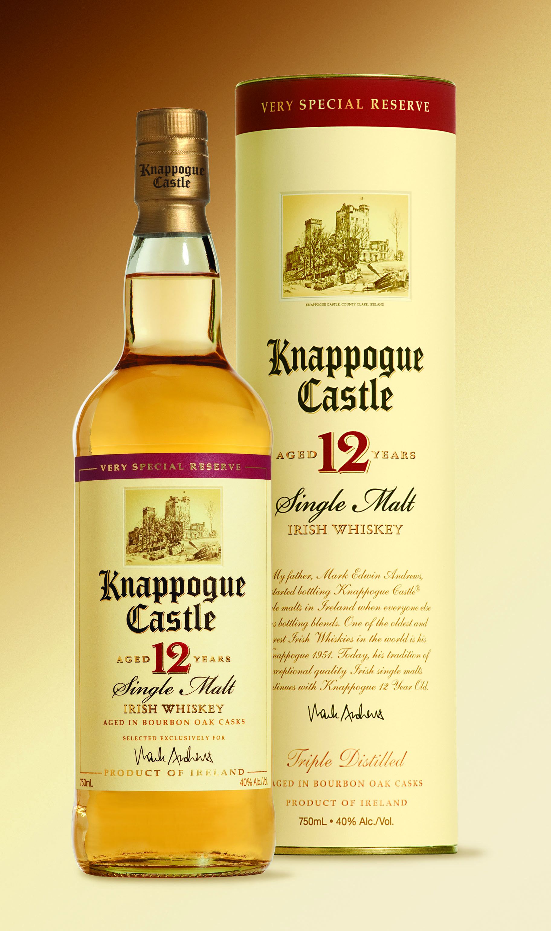 Knappogue Castle Single Malt Irish Whiskey Knappogue Castle  # Muebles Para Guardar Whisky