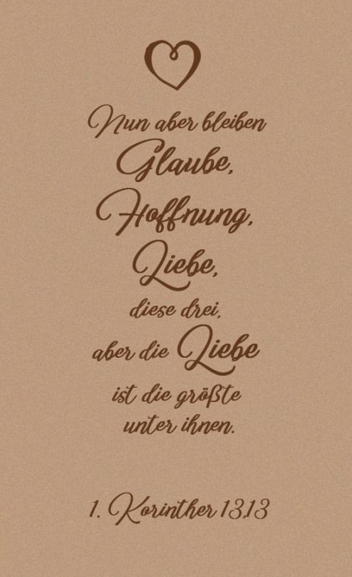 Häufig wird… The motto is mapped to the wedding on the wedding candle. Often it is also printed on the invitation cards and thanksgiving cards. # Maid of Proverbs