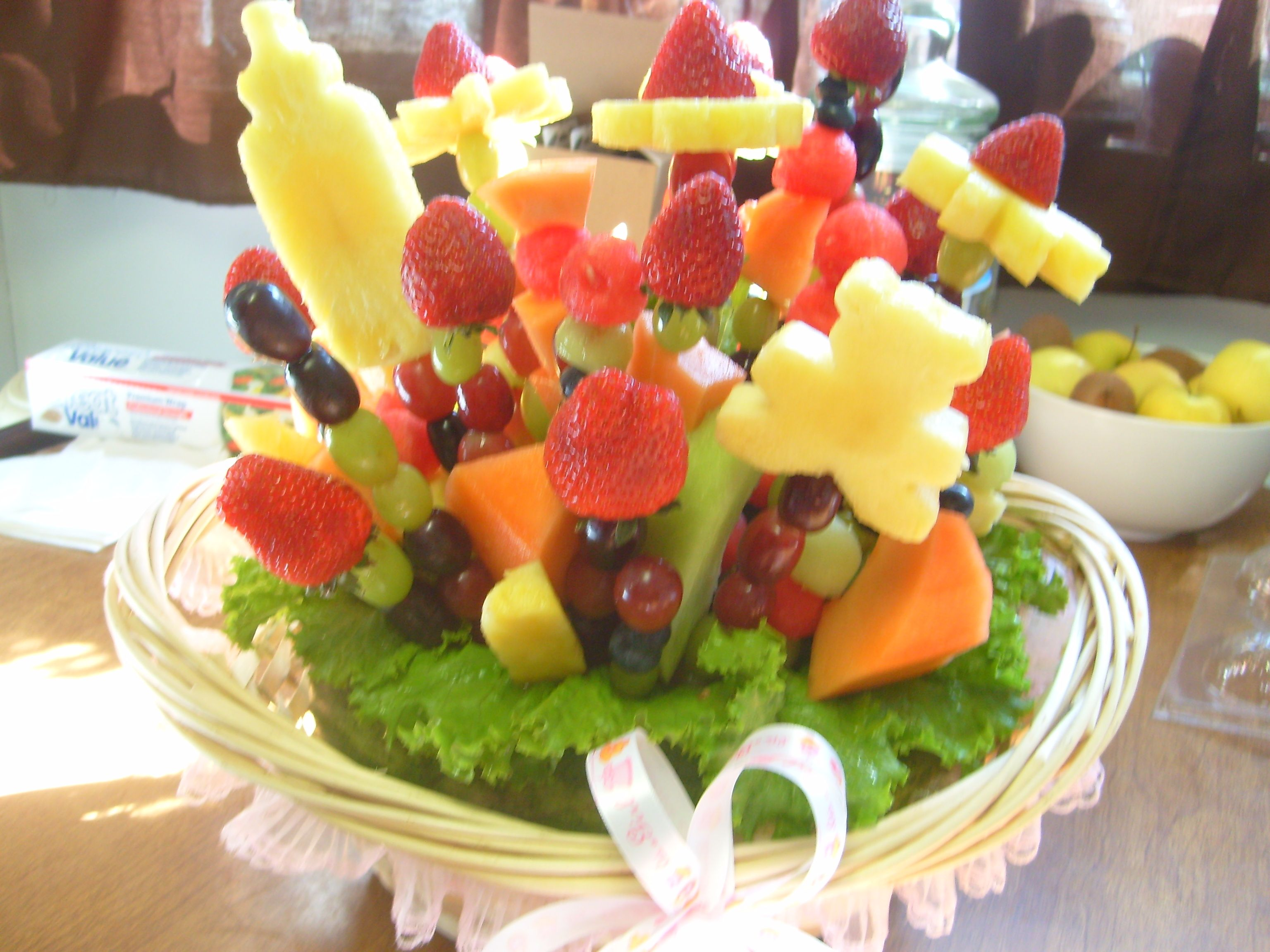 Baby Shower Fruit Arrangement Made At Shelleys Sweets N Stuff