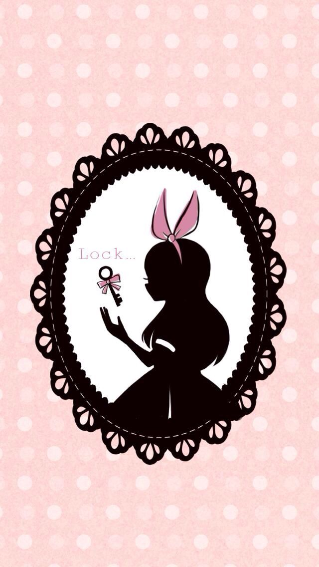 Alice in wonderland lock