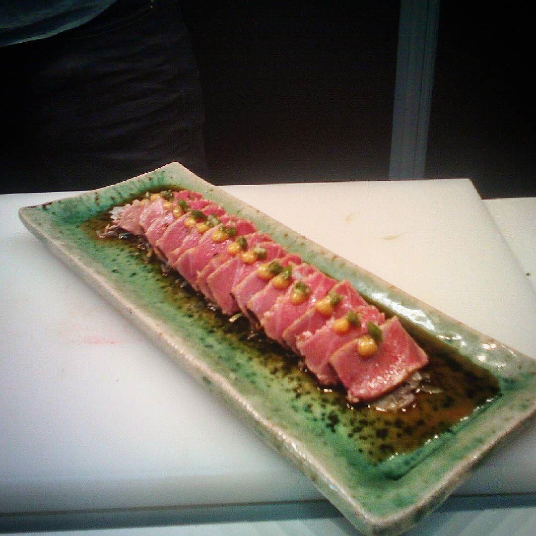 #Tataki de atún en el #XXISalonDelManga by inuki02