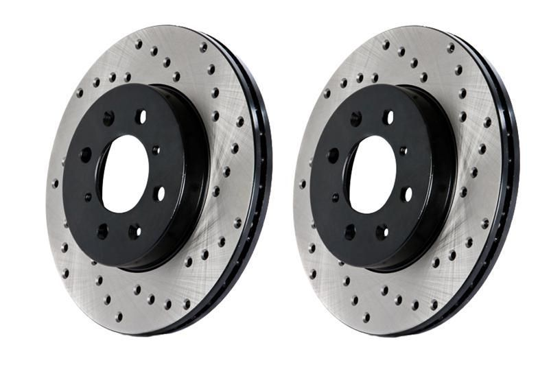Front Brake Kit Brake Rotors And Disc Brake Pads Brembo for Toyota Matrix 03-08