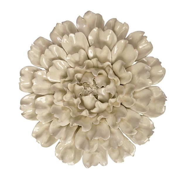 Isabella Large Ceramic Wall Decor Flower Imax Exclusive Also Available At Gustafson S Furniture