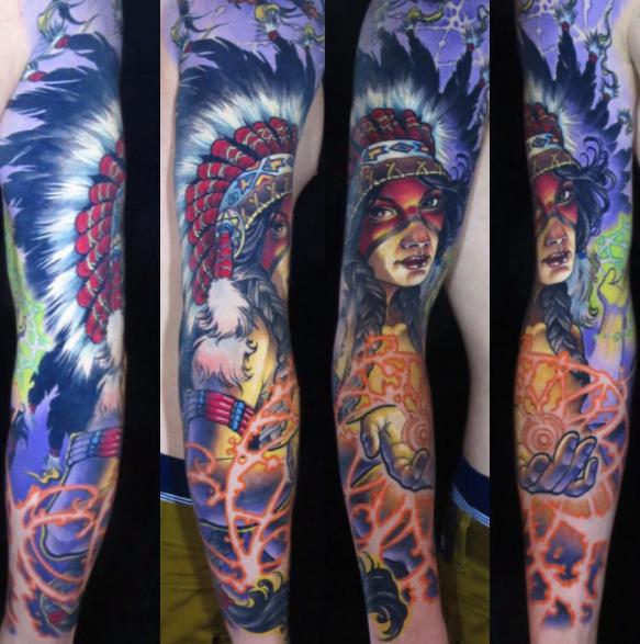 tattoo by James Tex