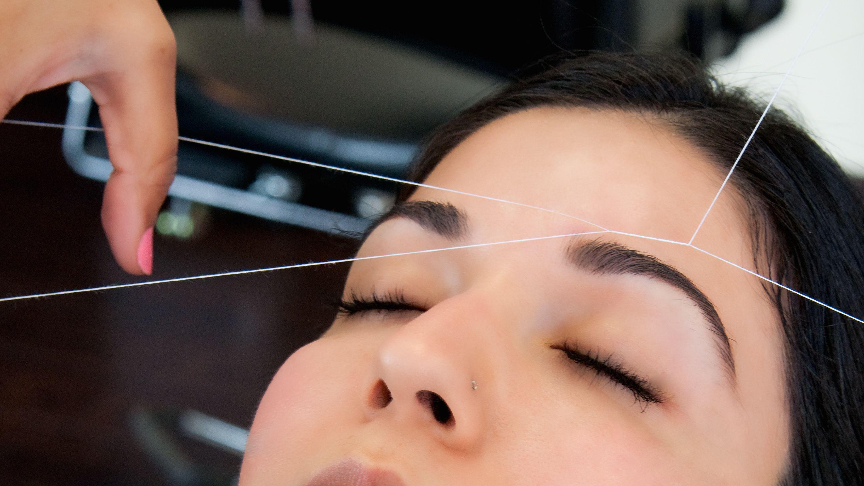 Get amazing eyebrow threading services Threading