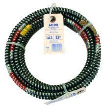 Armored Cable 14-3 X 25\' CU THHN BLK/WHT/RED BOND AL AC by Southwire ...