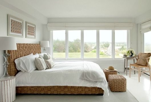 Bon Coastal Bedroom With Sorrento Seagrass Bed....  Http://www.completely Coastal.com/2017/02/neutral White Beige Coastal  Bedrooms.html