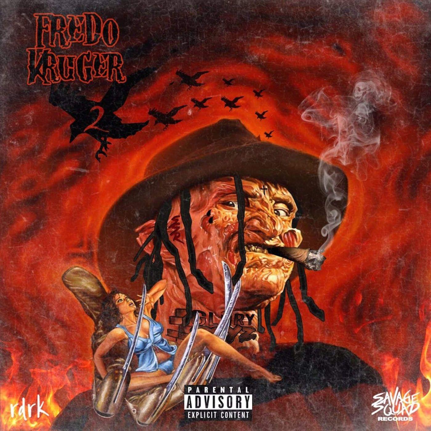 Fredo Santana Kruger 2 Official Promo Mixtape Album 2017 New