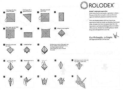 Rolodex Assembly Instructions  Instruction Design