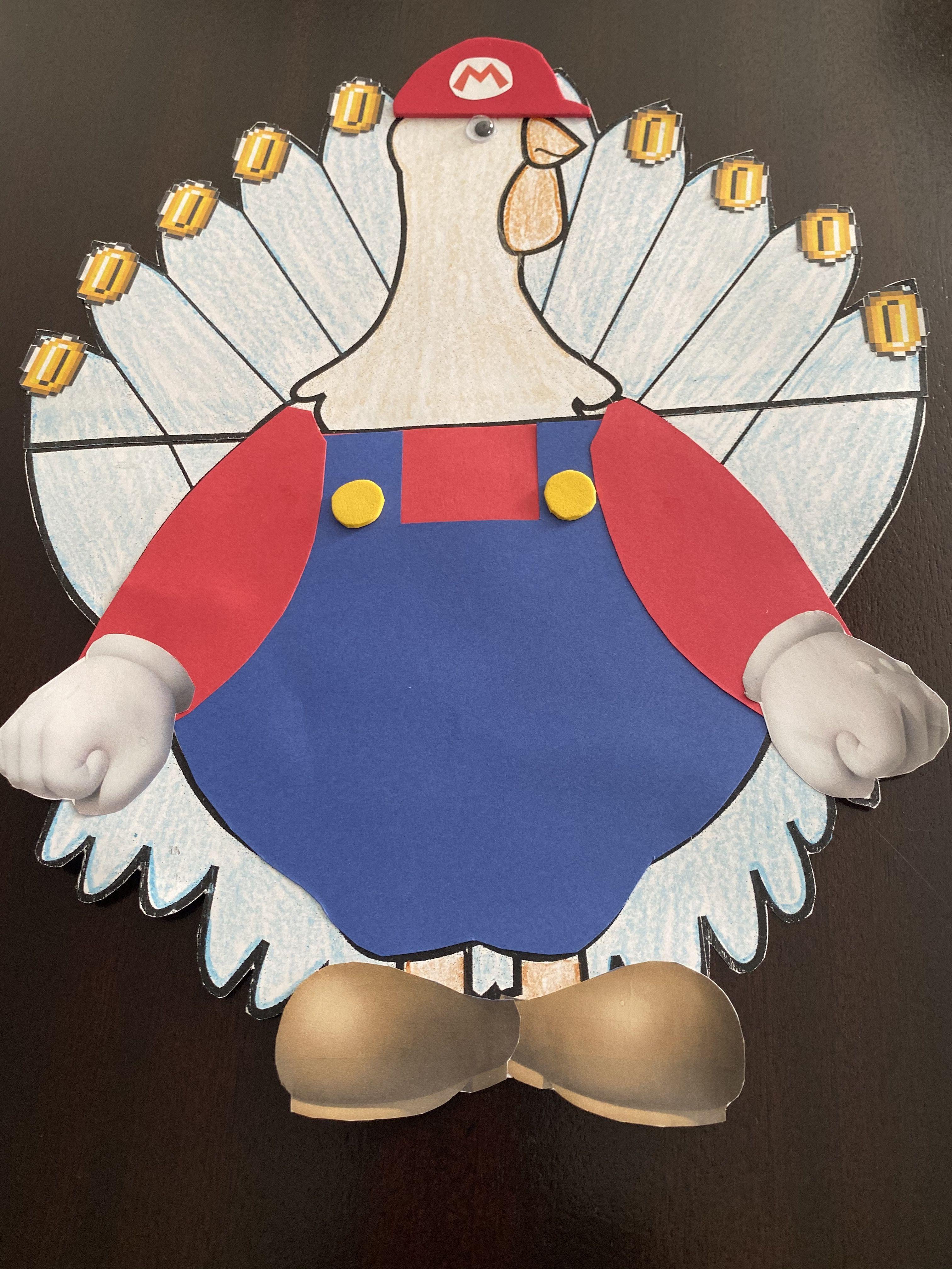 Super Mario Turkey Disguise Turkey Disguise Project Turkey Disguise Turkey Project