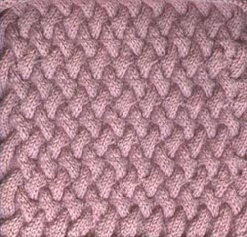Free Pattern: Afghan block - Basketweave by Sarah ...