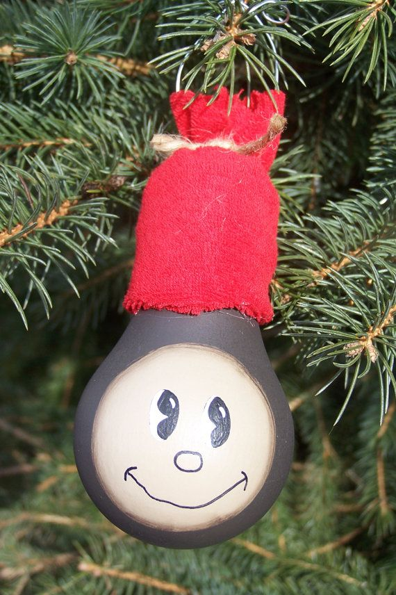 Ohio State Brutus Lightbulb Ornament I know