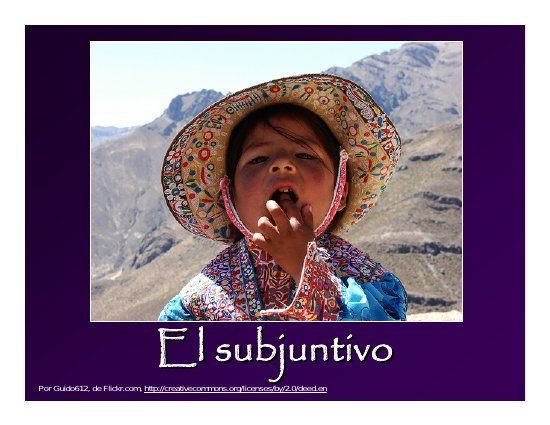 Span 3123 Los Usos Del Subjuntivo 2009