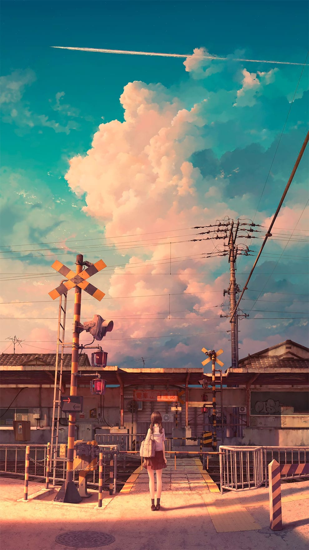 Artist Combines Photorealistic and Anime Style Drawings in Beautifully Nostalgic Illustrations