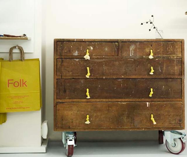 Spotted In The Interior Of Folk Munich Knotted Marine Rope Used As Drawer Pulls More Quick Fi With Handles And Inside