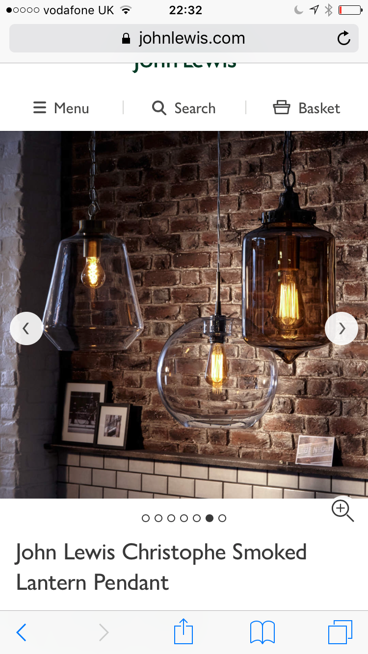 Basket Pendant Light Kitchen