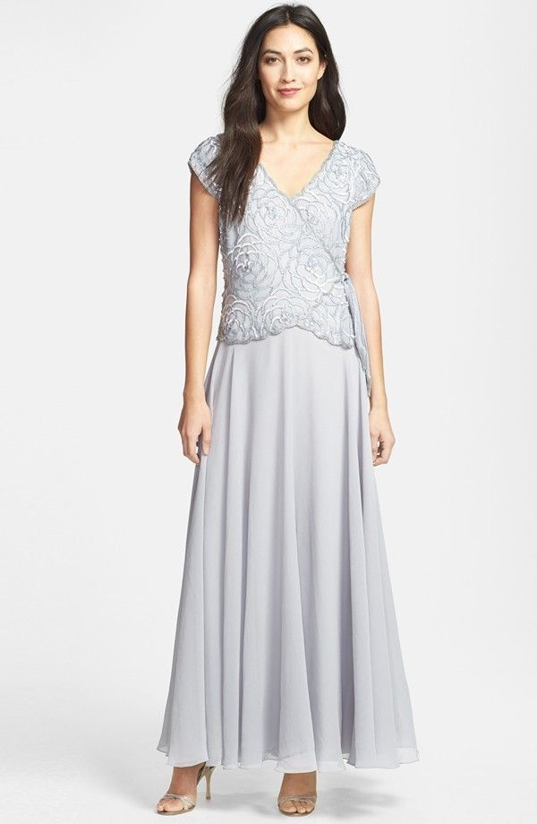 d681e9d005 Order Now J Kara Embellished Bodice Chiffon A Line Bodice image by wedding  new dress