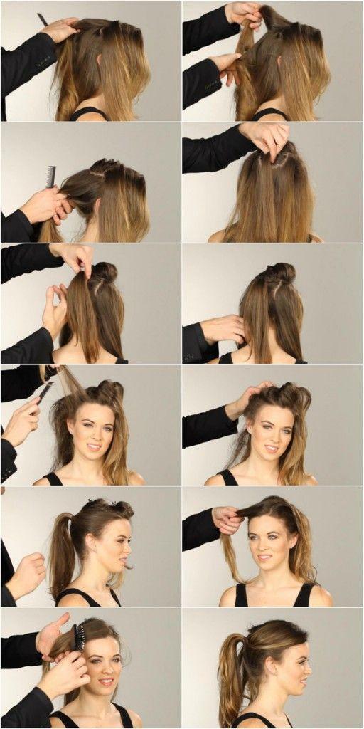 Festliche Haarstylings Frisuren Fur Weihnachten Und Silvester Haar Styling Frisuren Lange Haare Abiball Coole Frisuren