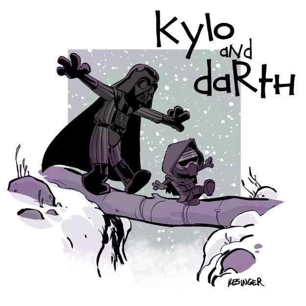 Star Wars + Calvin & Hobbes
